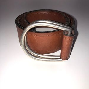 Fossil Brown Leather Belt